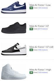 Cool Air Force One Designs 47 Best Nike Air Force 1 Sneakers January 2020 Runrepeat