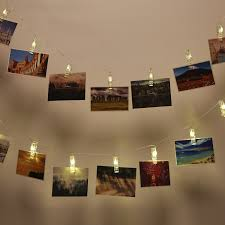 Photo Clip String Lights Walmart Photo Clip String Lights 2 Pack 10 Led Battery Operated
