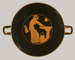 essay on aphrodite pin up anything worth putting in an  scenes of everyday life in ancient essay heilbrunn terracotta kylix drinking cup