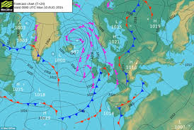 surface pressure charts uk weather to see rain and cooler weather replace blue skies hot