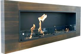 ventless ethanol fireplace wall mounted dark walnut mount bio maximum how do fireplaces work