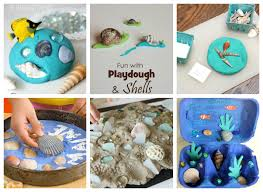 Kids Seashell Crafts and Activities