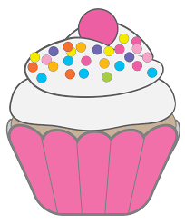 cupcakes with sprinkles clipart.  Clipart Pink Cupcake Clipart 2032012 License Personal Use On Cupcakes With Sprinkles P