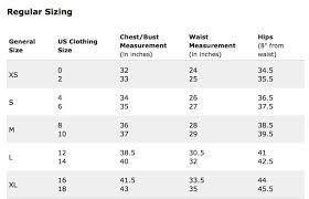 Brandit Size Chart Pea Coat Size Chart