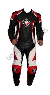 kore cobra black red one piece motorbike racing leather suit uber expressions