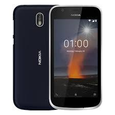 <b>Смартфон Nokia 1</b> Dual sim (TA-1047) Dark Blue — купить в ...