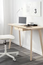 unique home office desk. Create A Unique Home Office Or Workspace With The IKEA LISABO Desk! Each Table Has Its Own Character Due To Distinctive Grain Pattern, Desk E