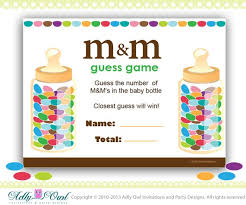 M & M's Baby Shower Game Printable Fun Baby Shower Games   Etsy