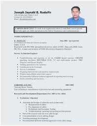 resume objectives for customer service representative sample resume objective for call center agent outstanding resume for