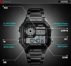 <b>Relojes</b> Hombre <b>Hot Sale</b> Skmei 1335 Luxury Brand Dual Time ...