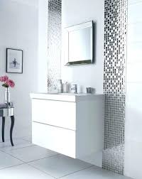 Framing Bathroom Mirror With Tiles Border Uk Tile Frame Take