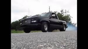 1991 C1500 Prostreet Chevy Truck Burnout - YouTube