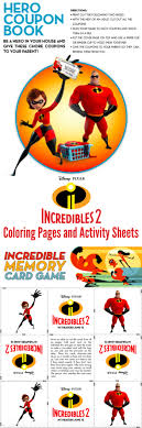 Color them online or print them out to color later. Incredibles 2 Coloring Sheets And Activity Pages As The Bunny Hops
