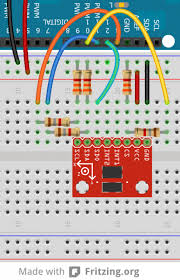 voltage dividers learn sparkfun com breadboard example of level shifting voltage dividers