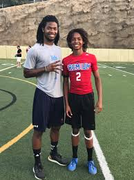 """Byron Tucker on Twitter: """"UCLA's Diamond Lee schooled Chance today on the  essence of being a WR. #couldbebros… """""""