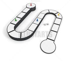 友達とボードゲームで遊ぶ ロイヤリティフリーイラスト素材