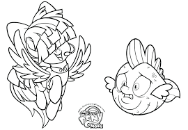 My Little Pony Sea Ponies Coloring Pages Printable Printable My