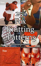 Fox Knitting Chart Fox Knitting Patterns In The Loop Knitting