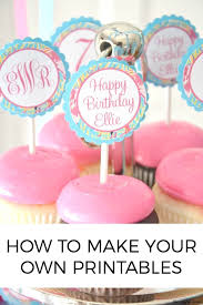 How To Make Your Own Printables The Joyful Home