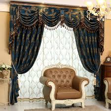 living room curtains with valance. Image Of: Living Room Curtains With Valance Blue