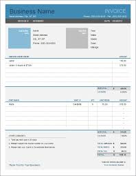 Simple Invoice Sample Impressive Auto Repair Invoice Template For Excel