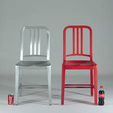 emeco 111 navy side chair coca cola collaboration. emeco - 111 navy coca-cola chair side coca cola collaboration