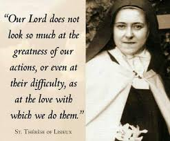 St Therese Of Lisieux Quotes 13 Awesome Favorite Things Quotes From Saint Therese Divine Incarnate