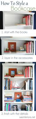 Living Room Bookshelf Decorating 17 Best Ideas About Decorating A Bookcase On Pinterest Book