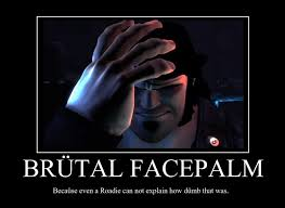 Brutal Facepalm by Xanokah on DeviantArt via Relatably.com