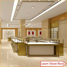 Good quality jewelry showcase furniture counter modern glass
