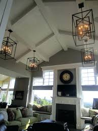 pendant lighting for sloped ceilings. Pendant Light For Sloped Ceiling Love The Vaulted Chandeliers Clock Not Sure About Furniture . Lighting Ceilings H