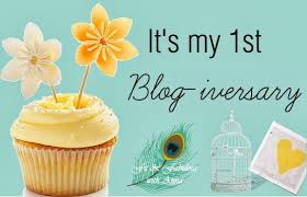 image of 1st anniversary of my blog के लिए चित्र परिणाम