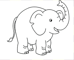 Elephant Coloring Pages Cute Elephant Coloring Pages Elephant
