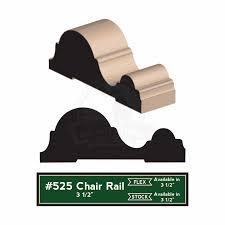 chair rail profiles. 525-2015 Chair Rail Profiles