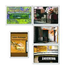 Tom Bäcker Postkarten Setkonvolut 5x2 Karten Schöne Sprache