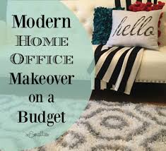 home office makeovers. Modern Home Office Makeover On A Budget Makeovers