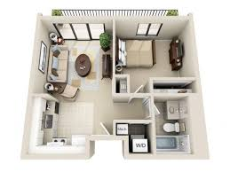 One Bedroom Apartment Floor Plans d And Studio Apartment Floor Plans d  Viewpointe Apartments