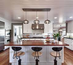 Awesome kitchen island lighting and Pendant Lights with wooden countertop