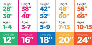 Bicycle Size Chart Bike Size Chart How To Choose The Right Bicycle Mogul
