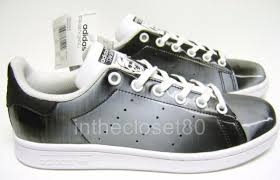adidas shoes for girls stan smith. adidas stan smith iridescent lenticular black white juniors girls womens bb0291 shoes for s