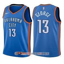 Uniforme George Boston Thunder 2017-18 Camisetas Hornets Arttuma Oklahoma Camiseta City Nuevo Nba Xbdtm402 Icon Celtics Nino 13 Azul Paul 2016 Año com -