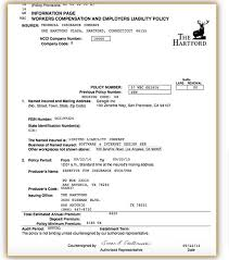 workers compensation insurance form necessary to apply for small business health insurance