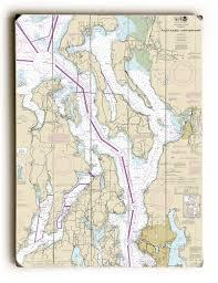 Washington Nautical Chart Signs