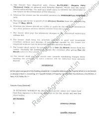 Room rental agreement form in pdf. Rental Agreement Format Agreement Affidavit Rental Agreement Bangalore Karnataka