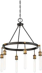 savoy house 1 2901 6 51 campbell contemporary vintage black with warm brass loading zoom