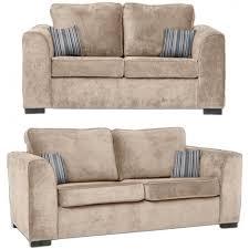 nelson grey fabric 3 2 seater sofa set