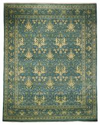 arts and crafts wool area rug teal 8x10 area rugs by arts and crafts rugs uk