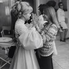 debbie reynolds and carrie fisher. Delighful Reynolds Two Women Stand Holding Hands Intended Debbie Reynolds And Carrie Fisher