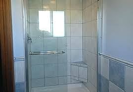 one piece shower large size of piece fiberglass shower stalls x stall with seat in 3