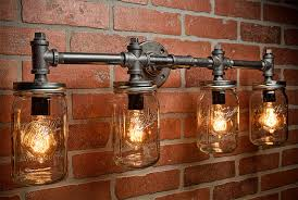 mason jar lighting fixture. these are great right can you just imagine one of hanging in your home which is favorite i am having a hard time deciding but mason jar lighting fixture u